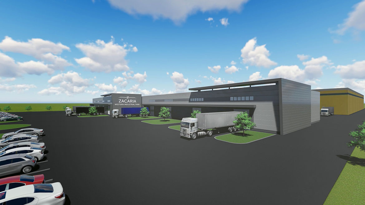Western Industrial Park from Oradea expands with a new warehouse