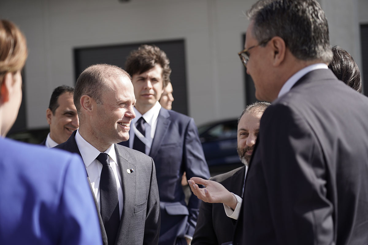 The Prime Minister of Malta, Joseph Muscat, visited Zacaria's Head Office